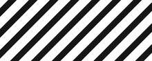 Black Line Vector Background. Pattern With Diagonal Stripes Backdrop.