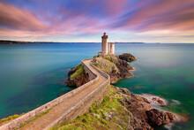Petit Minou Lighthouse At Suns...