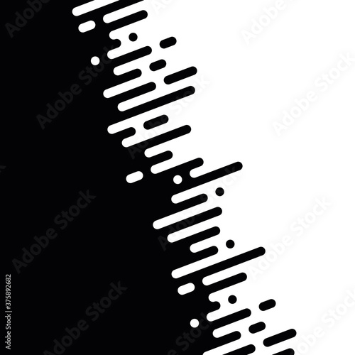 Photo Seamless vector abstract transition of two colors