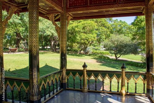 Fotografia gazebo in the park