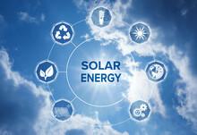 Solar Energy Concept. Scheme W...