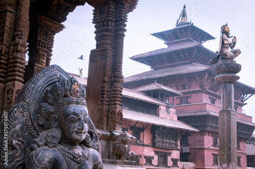 Leinwand Poster Patan Durbar Square(one of the World Heritage Site declared via UNESCO), Patan a