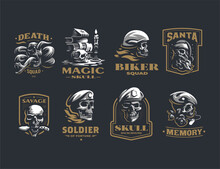 Collection Of Vintage Vector H...