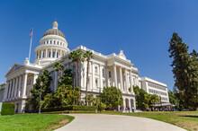 California State Capitol, Sacramento, USA.