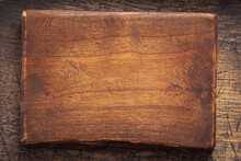 Aged Wooden Nameplate At Wood ...