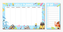 Collection Of Weekly Planner A...