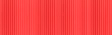 Panorama Of Red Corrugated Met...