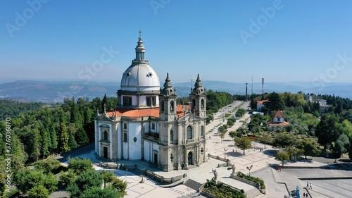 Fotografija Sameiro sanctuary Braga Portugal