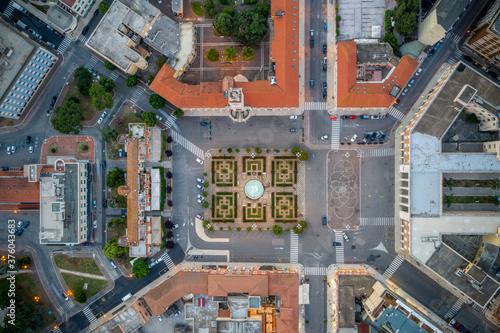 Fotografering Piazza del Popolo
