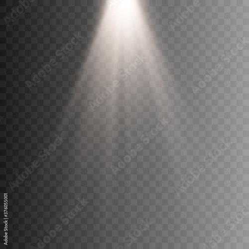 Fototapeta This illustration depicts light, lighting. The illustration is drawn on a checkered background. obraz na płótnie