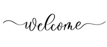 Welcome - Vector Calligraphic ...