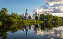 Vologda City Center.  Cathedra...