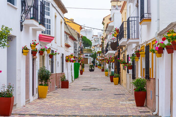 Estepona, Costa del Sol, Spain.