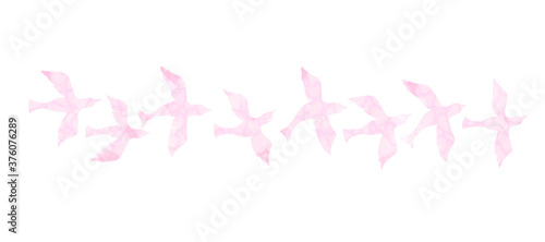 Fotografie, Obraz 小鳥をモチーフにしたパーツ素材
