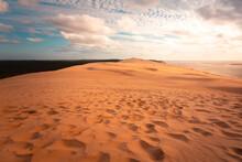 The Great Dune Of Pilat, Highest Dune Of Europe At Arcachon, Aquitanie, France.