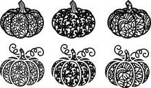 Lace Pumpkin Thanksgiving  Day Halloween