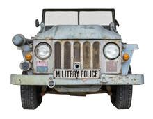 Vintage Military Police Vehicle