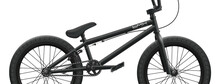 Black BMX Bicycle Mockup - Right Side Close-up