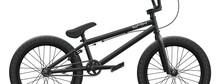 Black BMX Bicycle Mockup - Rig...