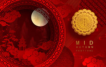 Mid Autumn Festival Or Moon Fe...