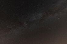 Vista De La Vía Láctea Una N...