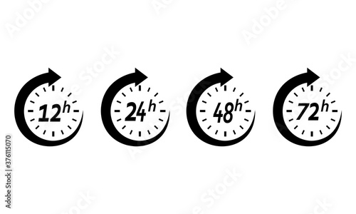 Fotografija Icon 12 hours, 24 hours, 48 hours, 72 hours