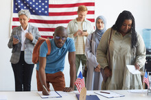 Multi-ethnic Group Of People R...