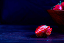 Fresh Strawberry Basket With I...