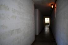 Dark Bunker Hallway.