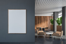Gray And Wooden Office Lounge ...