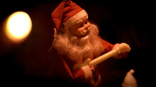 Santa Claus With Guitar