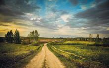 Perfect Rural Landscape View W...