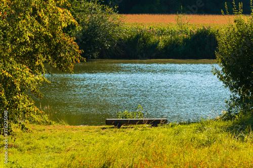 Fotografie, Obraz Posezení u vody
