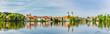 canvas print picture - Stadt-Panorama von Bad Waldsee, Region Bodensee-Oberschwaben