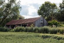 Abandoned Farm Building Left I...
