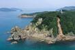 愛媛県西予市 須崎海岸の風景