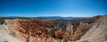 Panorama Of Hoodoos In Bryce Canyon National Park Utah