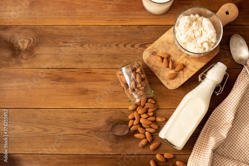 Photo Almond milk