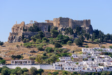 Sightseeing Of Greece. Lindos ...