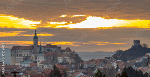 Tela Mikulov castle, South Moravia, Czech Republic