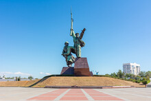 Soldier And Sailor Monument In Sevastopol, Crimea