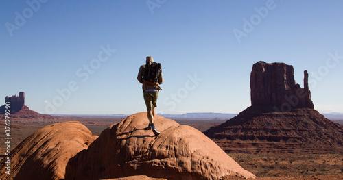 Fototapeta Uphill Monument Valley