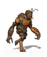 Insectoid Alien Walking