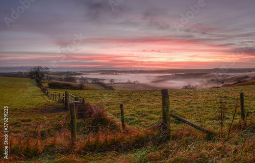 Fotografija Rolling hills in Dorset_1