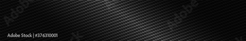 Fotografía Panoramic texture of black and gray carbon fiber
