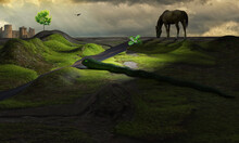 Medieval Landscape - Snake Nea...