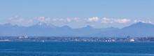 Everett Washington Skyline From Puget Sound