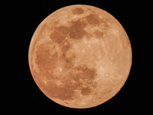 A Full Orange Moon