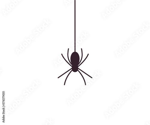 Halloween, monster, spider icon Canvas Print