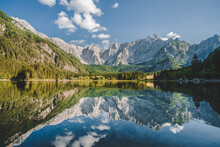 Beautiful View Of Fusine Lake,...